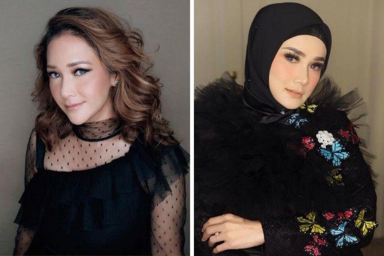 Beda Gaya Riasan Maia Estianty & Mulan Jameela, Siapa Favoritmu?