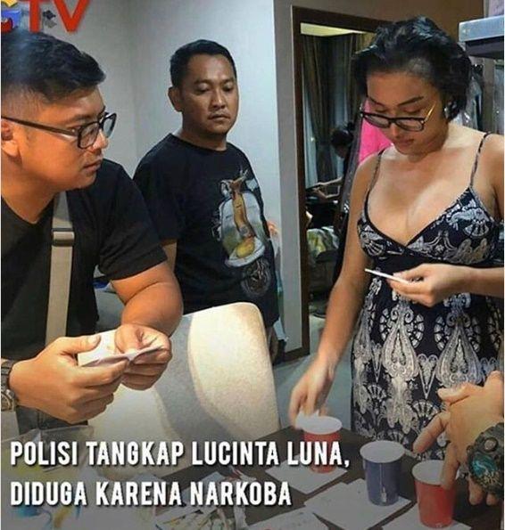 Positif Pakai Narkoba, Lucinta Luna Ditetapkan Sebagai Tersangka