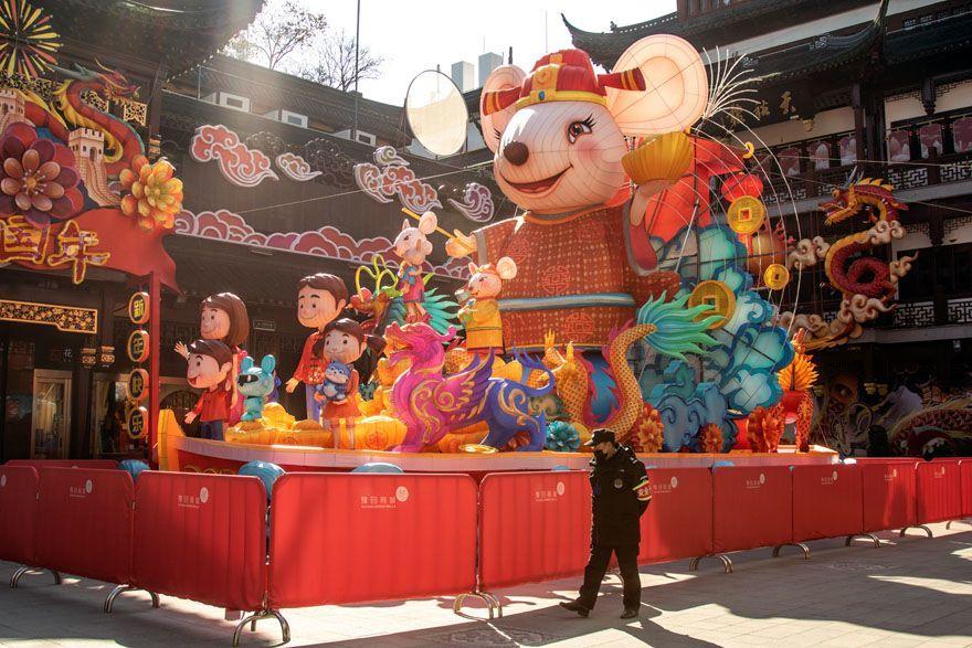 Bak Kota Mati, Ini 10 Potret Terbaru Kota Shanghai Pasca Corona