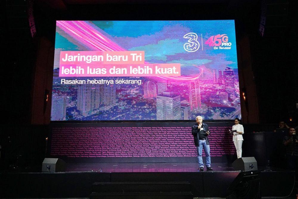 Berkomitmen untuk Kemajuan Bangsa, 3 Indonesia Tingkatkan Jaringan