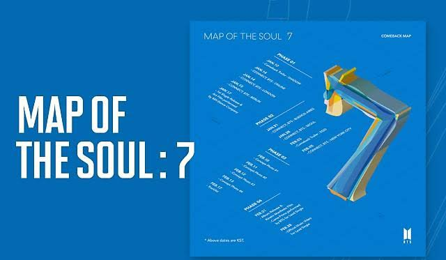 Ada 20 Lagu, Ini 5 Fakta Album Baru BTS, Map Of The Soul: 7