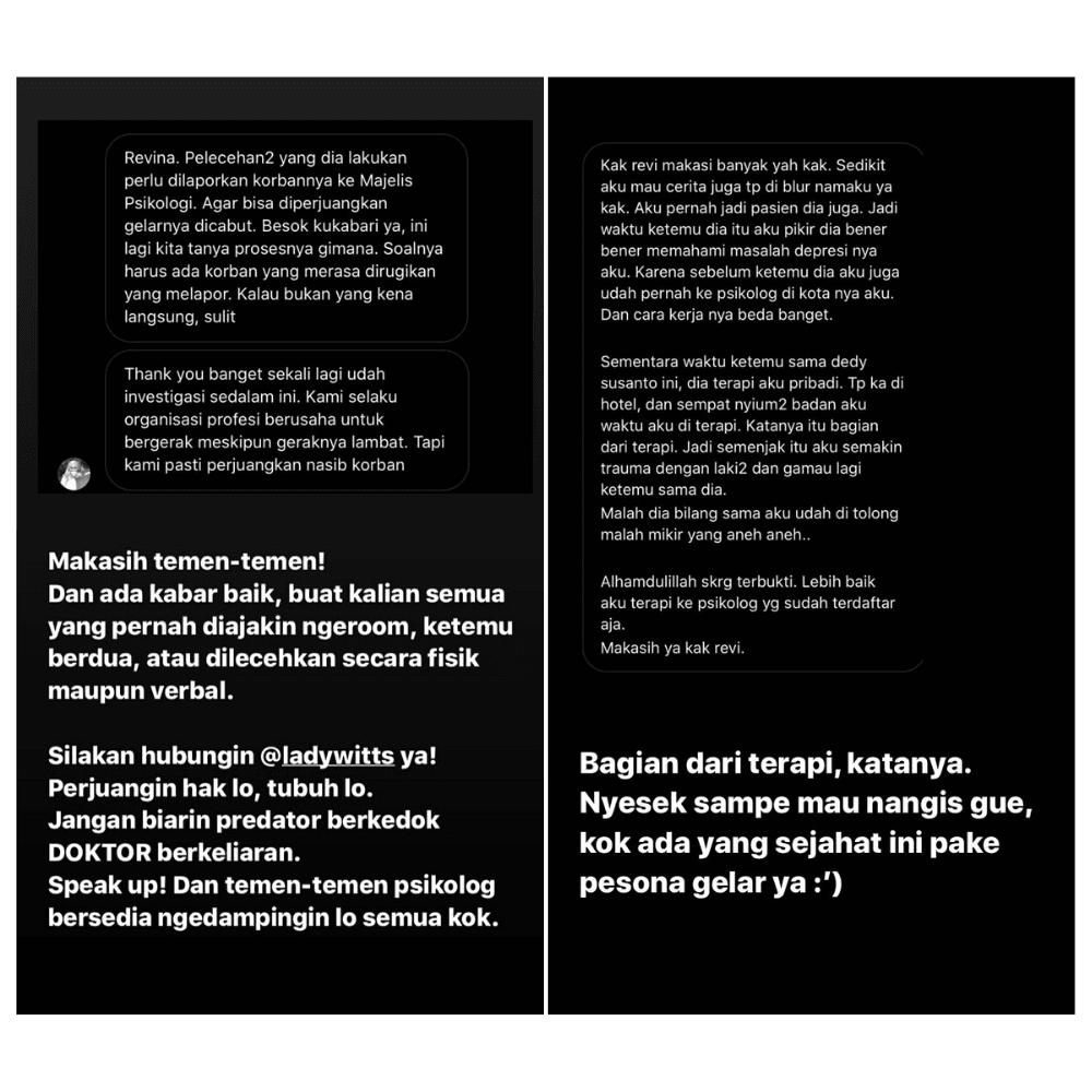 Semakin Panas, Inilah Kronologi Perseteruan Revina VT VS Dedy Susanto