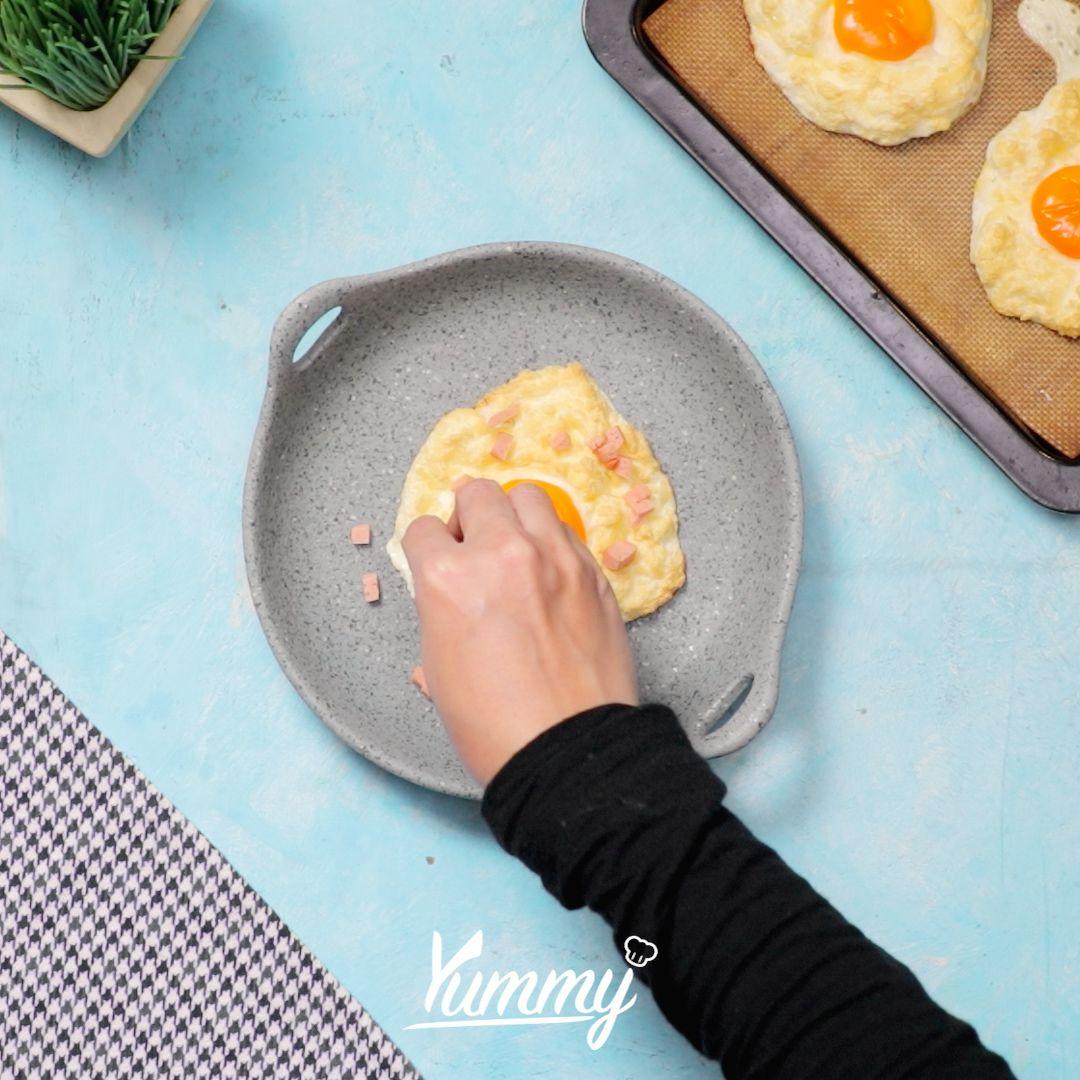 Resep Telur Berawan, Enak dan Bikin Bekal Makanmu Terlihat Cantik