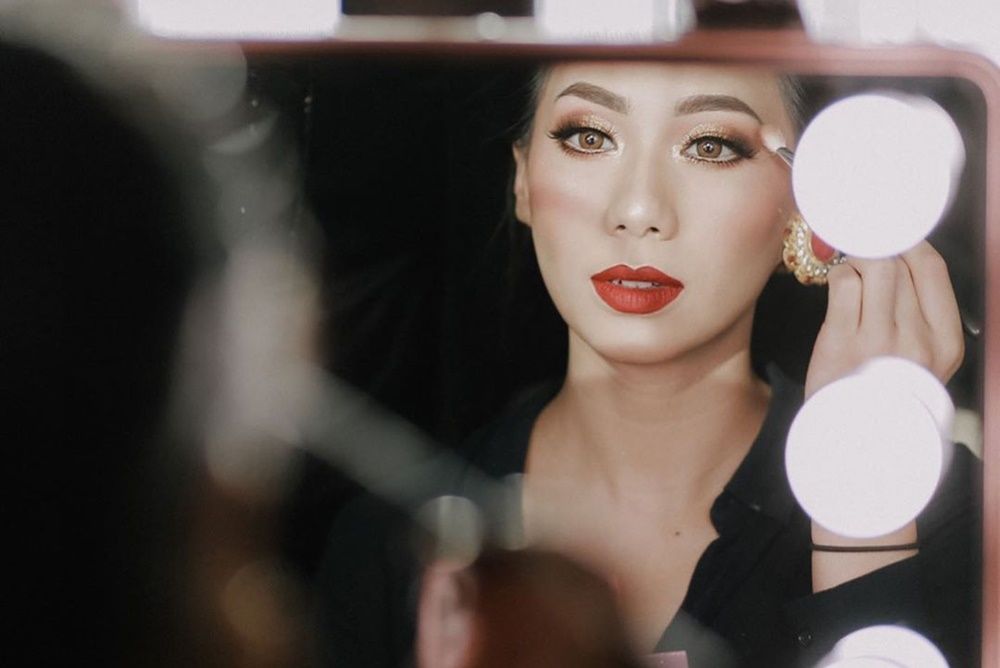Makeup Sendiri, Ini 5 Fakta Unik di Balik Pernikahan Abel Cantika