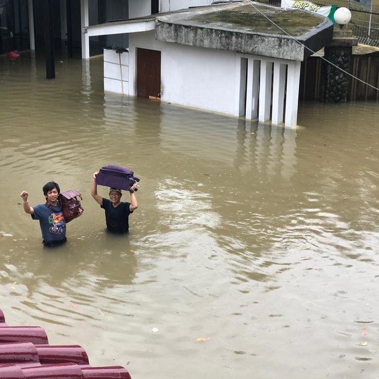 Banjir Lagi, Rumah 8 Artis Ini Kebanjiran di Awal Tahun 2020