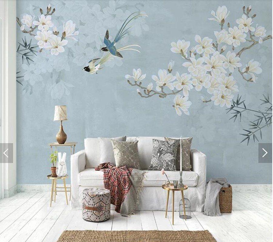 7Pilihan Desain Wallpaper Chic untuk Ruang Tamu