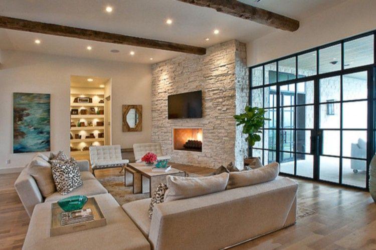 9 Inspirasi Rumah Menggunakan Batu Alam Sebagai Aksen