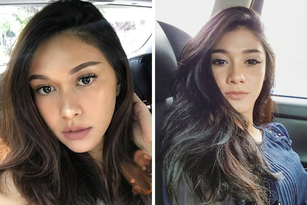 Mirip Anak Kembar, Begini Riasan Kompak Nana dan Naysilla Mirdad