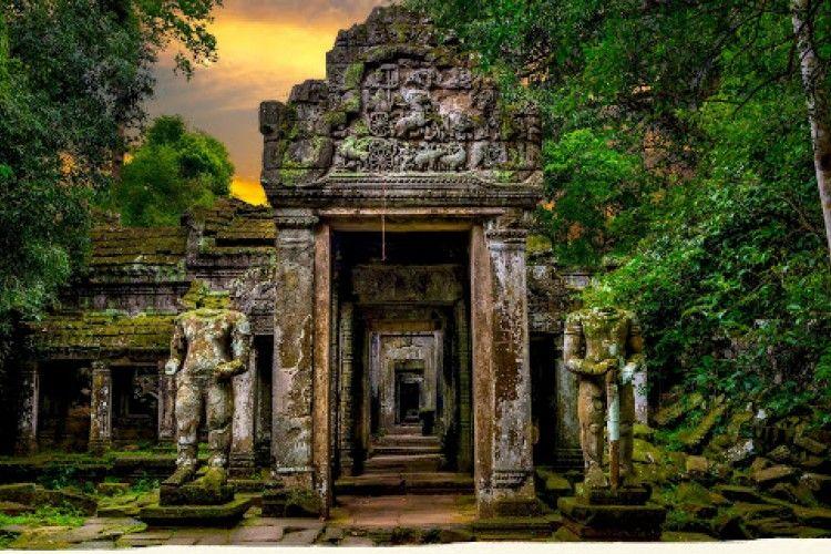 5 Kuil Wajib Kamu Kunjungi Saat Wisata ke Kamboja