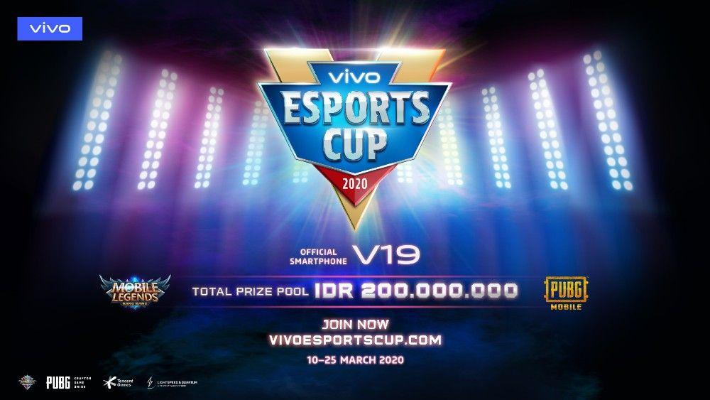 vivo Esports Cup 2020 Siap Menanti Para Gamers Sejati