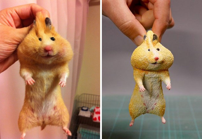 Terlalu lucu! 12 Miniatur Binatang Karya Seniman Jepang