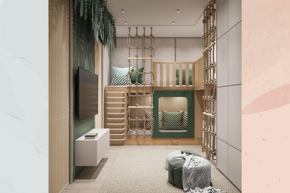 7 Referensi Kamar Tidur Model Loft Bed