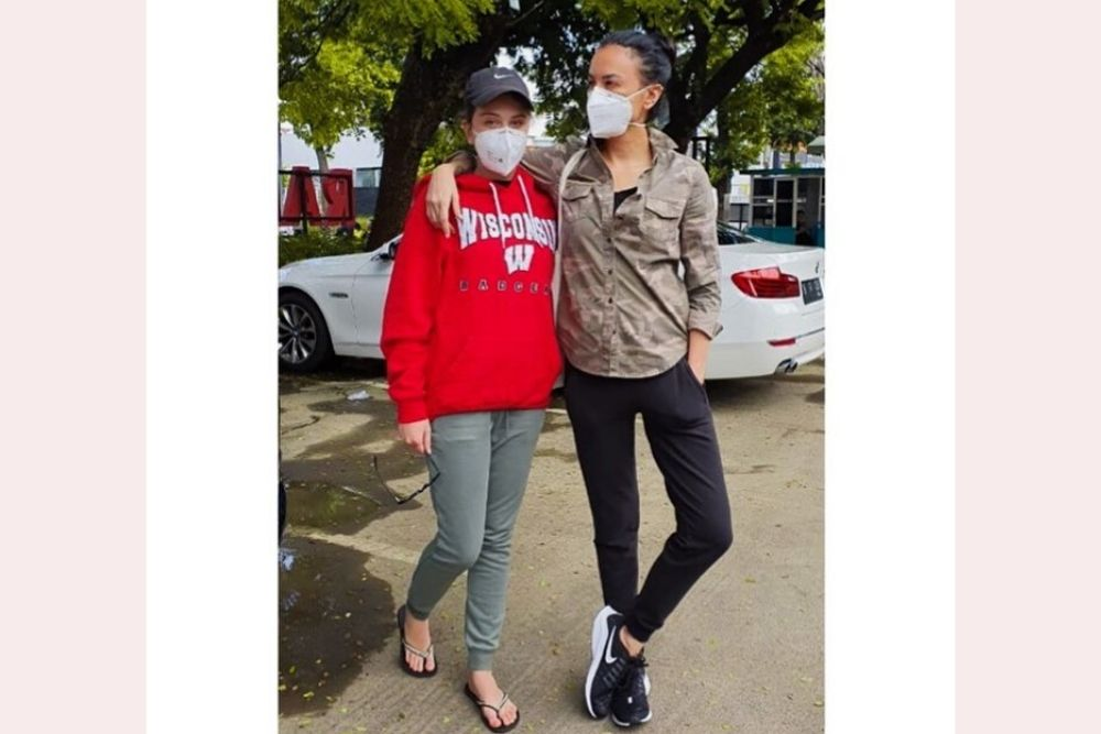 Begini Potret Para Seleb Indonesia Ketika Pakai Masker