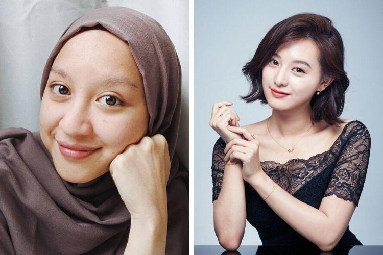 7 Seleb Indonesia yang Sering Dikira Kembaran Artis Korea