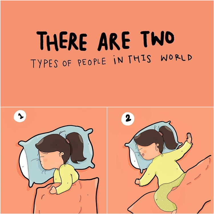 Kocak! 7 Ilustrasi Lucu tentang Problematika Kehidupan Perempuan