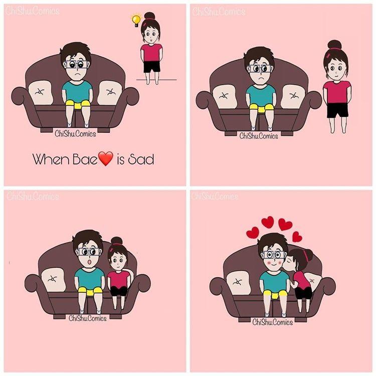 7 Ilustrasi Lucu Tingkah Konyol Pasangan yang Sudah Lama Pacaran