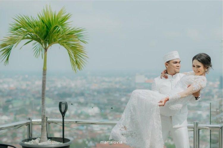 10 Foto Pernikahan YouTuber Maell Lee di Tengah Pandemi Corona