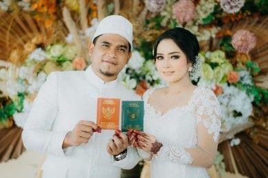 10 Foto Pernikahan YouTuber Maell Lee Tengah Pandemi Corona