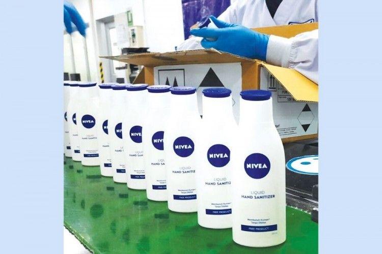 Nivea Luncurkan Hand Sanitizer Gratis untuk Bantu Pencegahan COVID-19