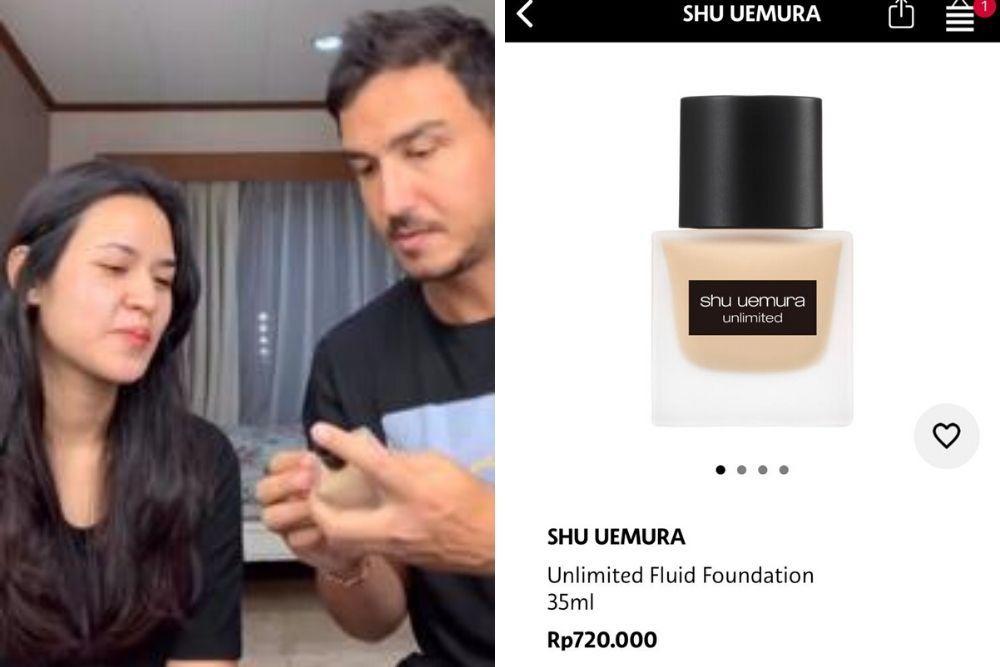 Dandani Raisa, Segini Harga Makeup yang Dipakai Hamish Daud