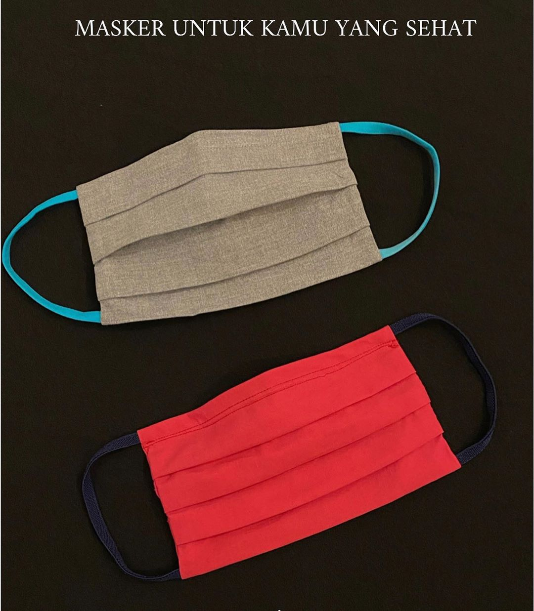 #PopbelaOOTD: Masker Kain Trendi dari Brand Lokal