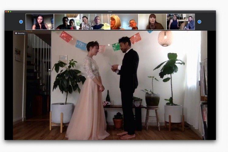 Pernikahan Unik di Berbagai Negara yang Digelar Saat Pandemi COVID-19