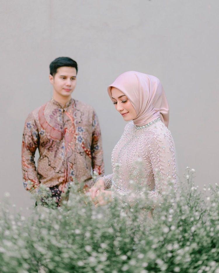 Digelar Online, 9 Foto Pernikahan Mega Iskanti di Tengah Wabah Corona