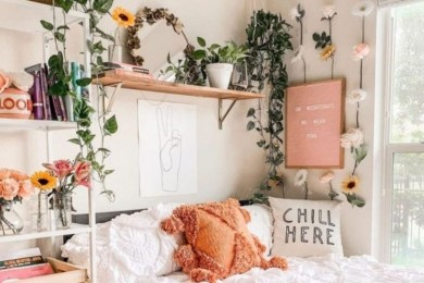 Bosan Saat DiRumahAja Yuk, Dekorasi DIY Kamar Tidur Aja