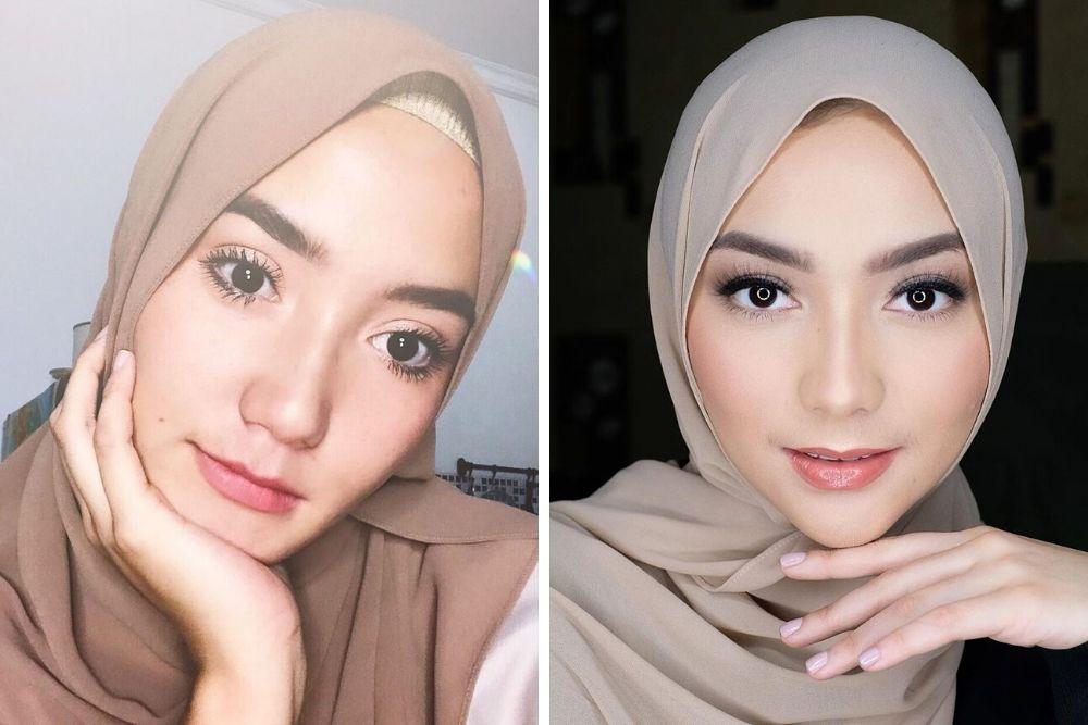 Sister Goals! Begini Perbandingan Riasan Erica Putri dan Citra Kirana