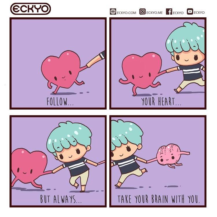 Gemas! 9 Ilustrasi Lucu Ini Buktikan Cinta Itu Sederhana