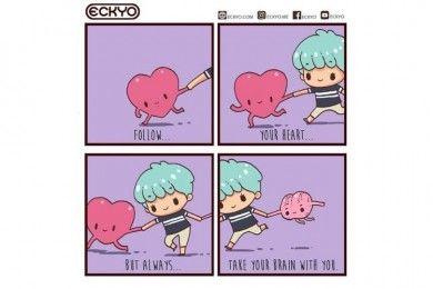 Gemas 9 Ilustrasi Lucu Ini Buktikan Cinta Itu Sederhana