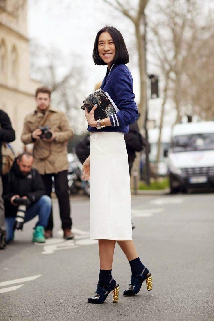 Padu-padan Kaos Kaki Polos Jadi OOTD yang Chic untuk Sehari-hari
