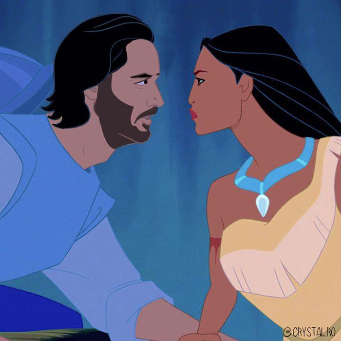 Begini Jadinya Kalau Keanu Reeves Jadi Disney Prince, Cocok Nggak, Ya?