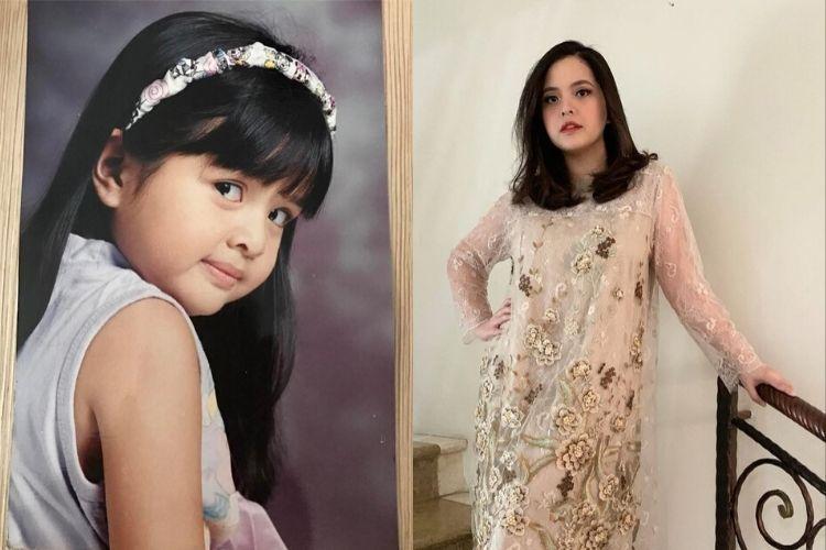7 Transformasi Seleb Indonesia Cilik Jadi Dewasa