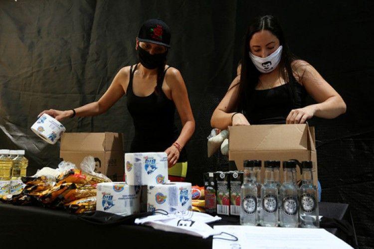 Putri Kartel Narkoba Terbesar Meksiko Beri Bantuan Terdampak Corona