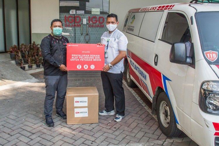 IDN Foundation Mulai Salurkan Donasi untuk Pembelian APD Tenaga Medis
