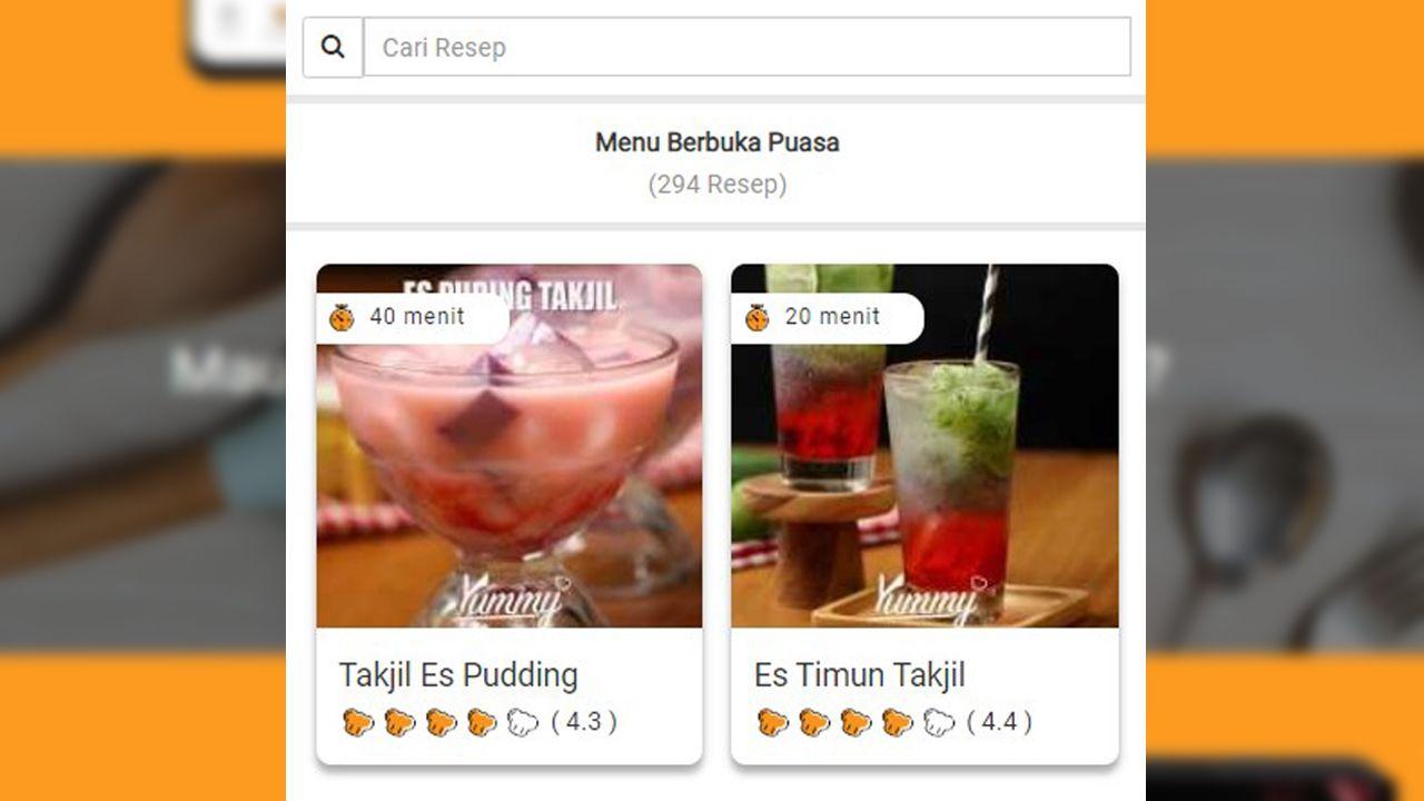 Menu Buka Puasa Sampai Makanan Sehat, Semua Ada di Yummy App