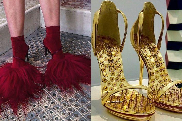 Deretan High Heels dengan Model Paling Nyeleneh! Berani Coba?
