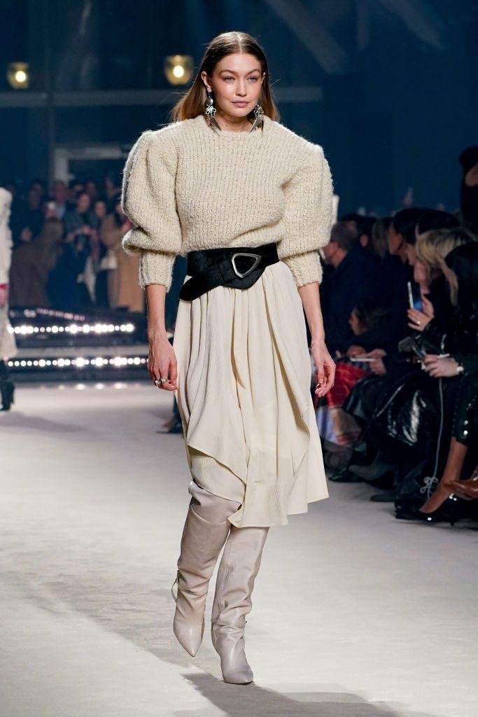 Diam-diam Hamil, Ini Fashion Show TerakhirGigi Hadid