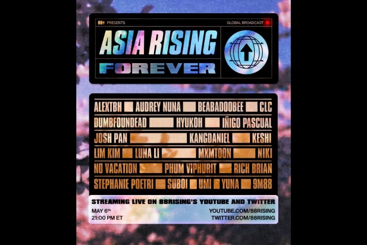 88rising Umumkan Global Livestream Festival Pertamanya
