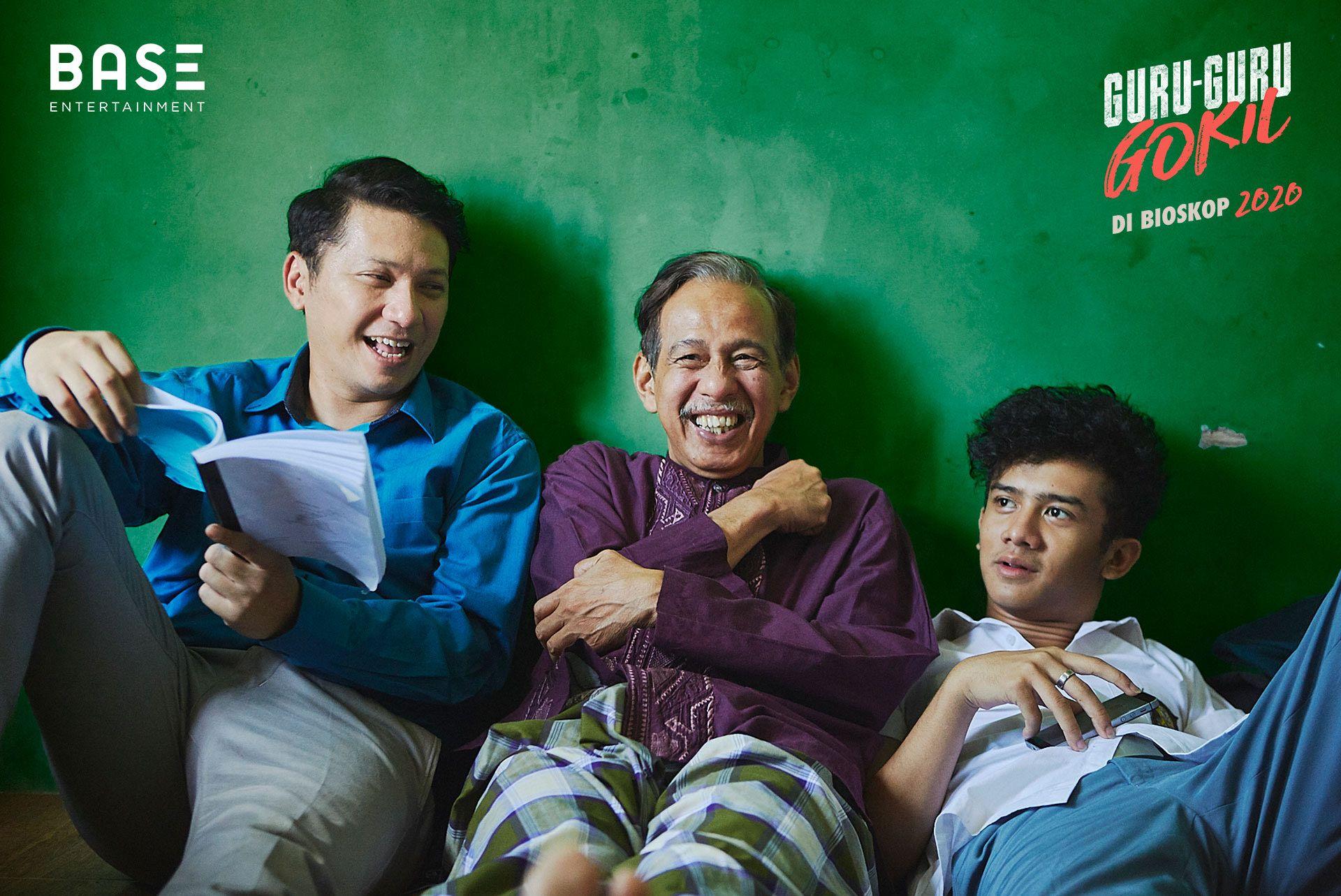 Menunggu Filmnya Tayang, 'Guru-Guru Gokil' Rilis Audio Series