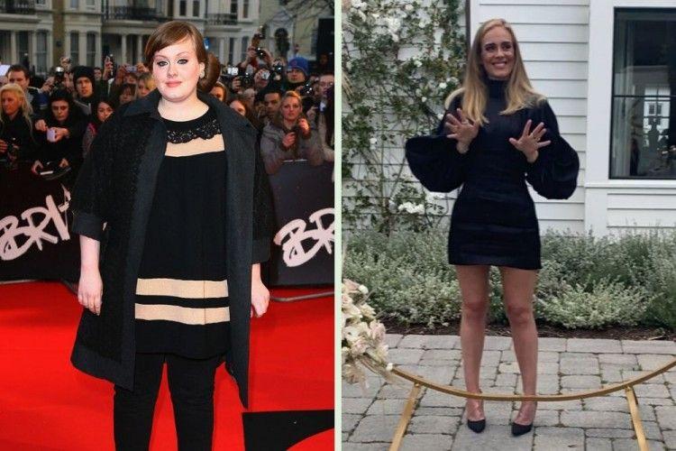 Makin Langsing, Ini 11 Potret Transformasi Adele yang Bikin Pangling