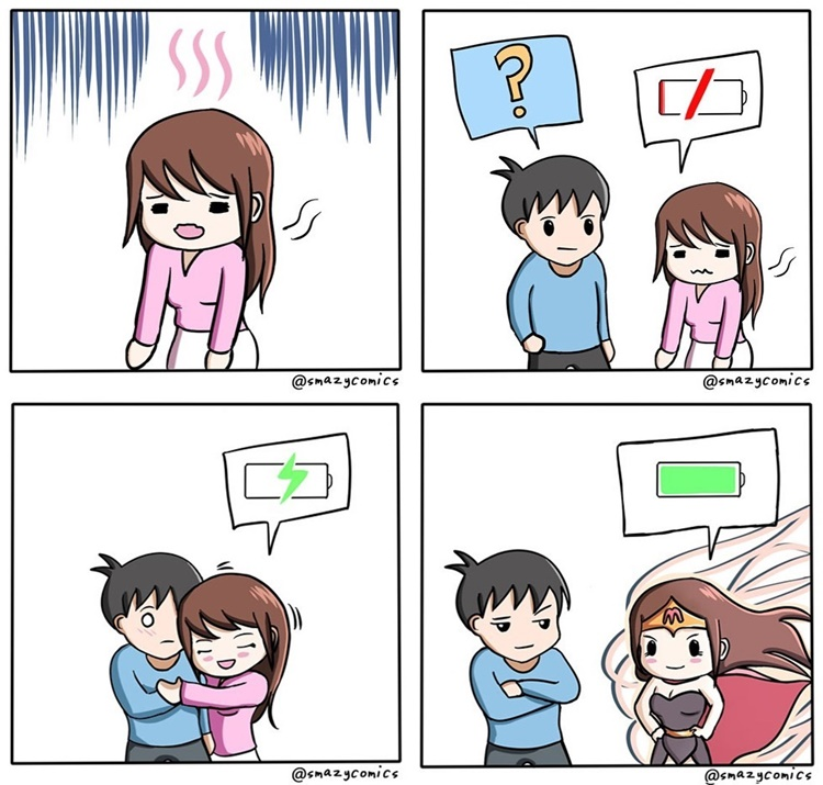Kocak! 7 Komik Strip Ini Tunjukkan Sabarnya Laki-Laki Hadapi Pasangan