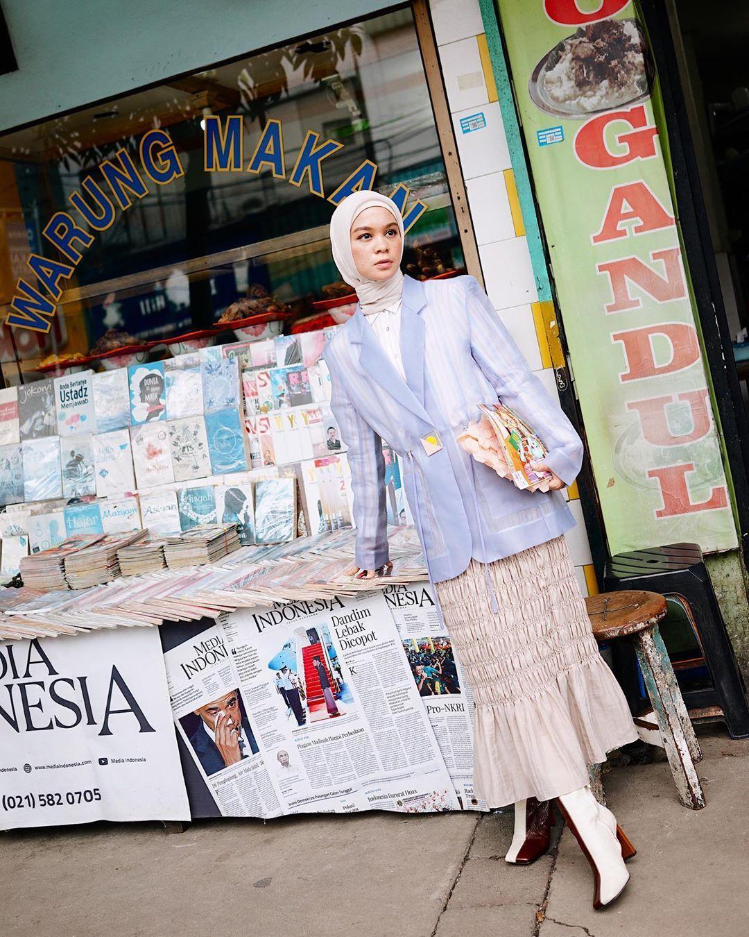 Tantri Namirah Tentang Hijab Tabrak Motif & Tampil Pede!