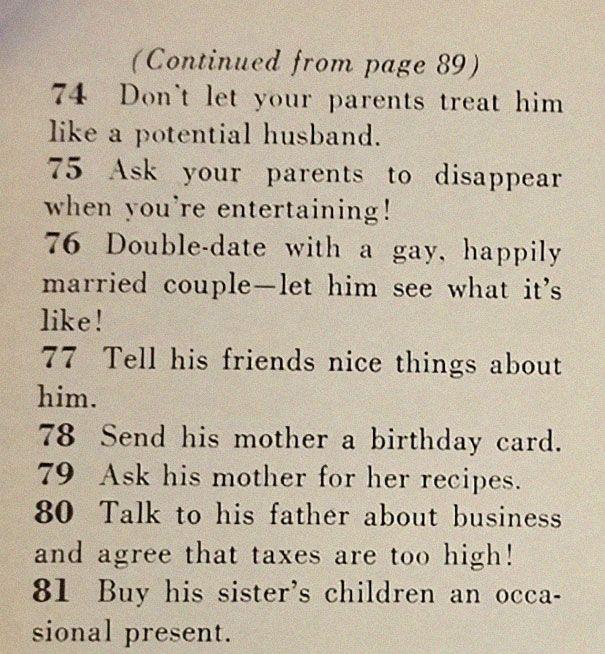 Intip 129 Cara Mencari Suami yang Ditulis di Majalah Tahun 1950-an