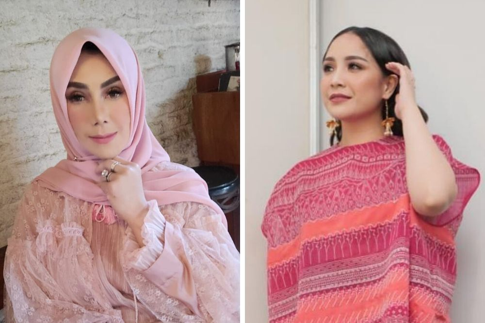 7 Potret Ini Buktikan Kekompakan Amy Qanita dan Nagita Slavina
