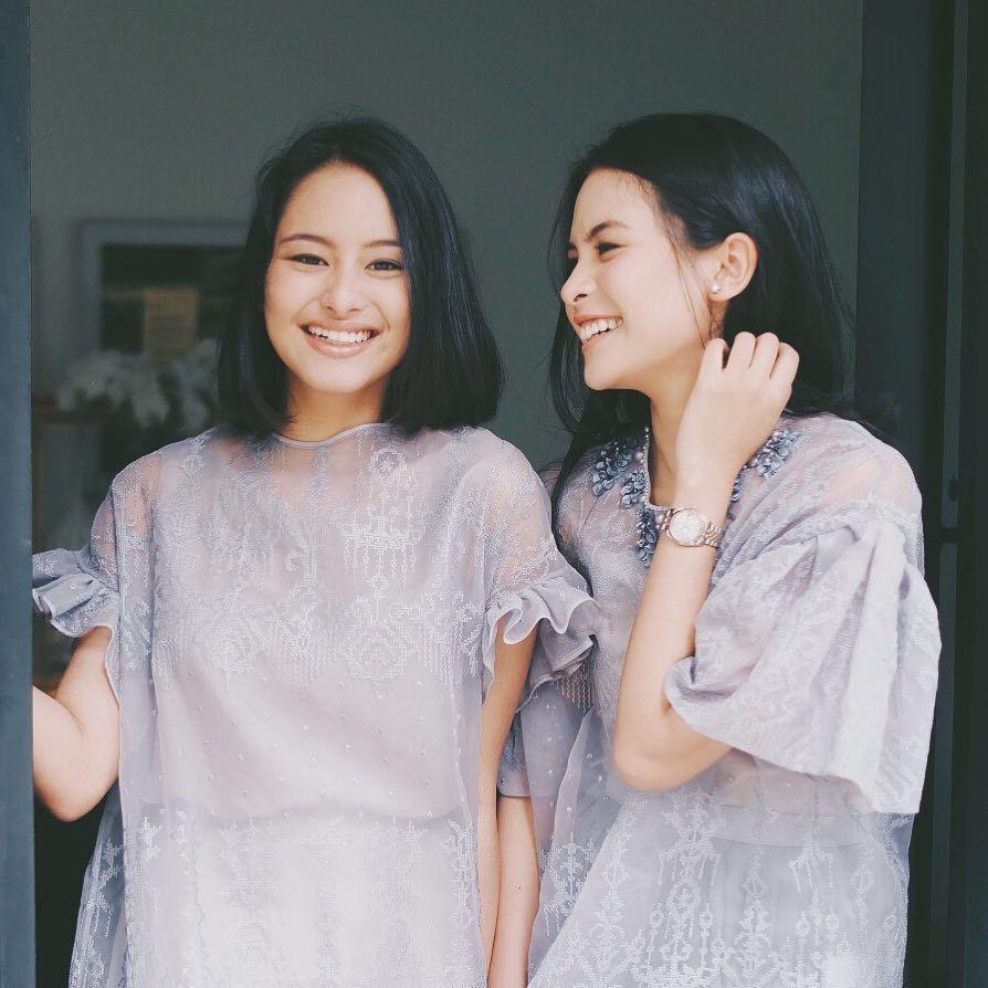 Inspirasi Gaya Kompak Kakak-Adik Artis Indonesia untuk Rayakan Lebaran