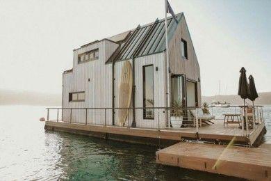 Rumah Minimalis Apung Tenaga Surya, Inspirasi Buat si Introvert