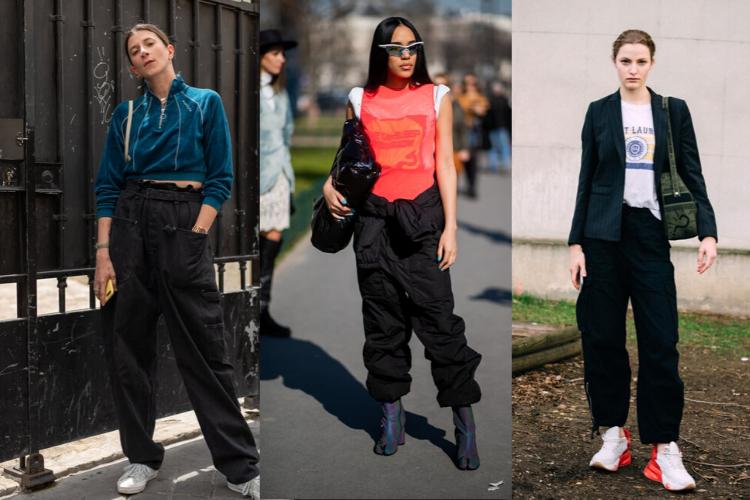 Cara Trendi Padu-padan Celana Cargo Hitam untuk OOTD Minggu Ini