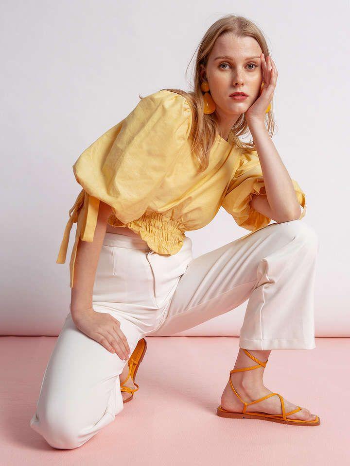 #PopbelaOOTD: Kumpulan Baju Kuning untuk Musim Panas 2020